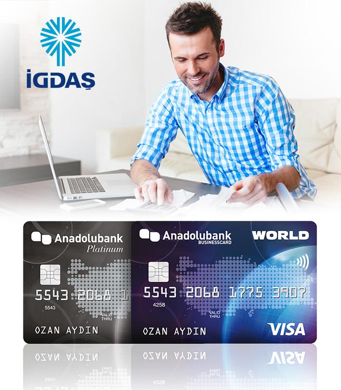 Anadolubank Worldcard ile Doğalgaz Faturalarına 10 Taksit